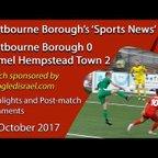 'Sports News': Eastbourne 0 v 2 Hemel Hempstead