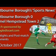 'Sports News': Eastbourne 0 v 2 Hemel Hempstead