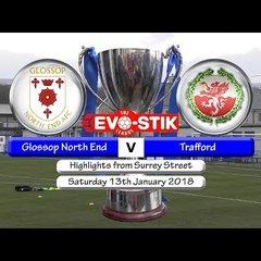 Glossop North End v Trafford 13/01/18
