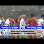 Haywards Heath Town vs Phoenix Sports - 24th November 2018
