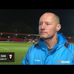 Salford City 2-0 Irlam - Derek Egan post-match interview