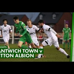 HIGHLIGHTS | Nantwich Town 0-1 Witton Albion