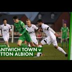 HIGHLIGHTS   Nantwich Town 0-1 Witton Albion