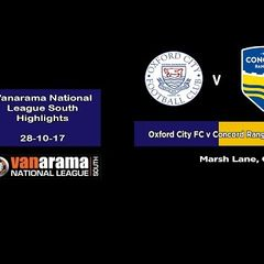 Oxford City FC v Concord Rangers FC