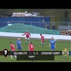 Richie Allen's equaliser against Stockport County!
