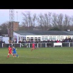 Banbury United 1 Leamington 0 - Highlights - 2 Jan 2017