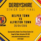 DERBYSHIRE SENIOR CUP FINAL: Belper Town vs Alfreton Town Highlights