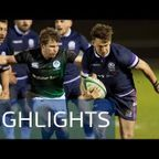 HIGHLIGHTS | Scotland Club XV v Ireland Club XV