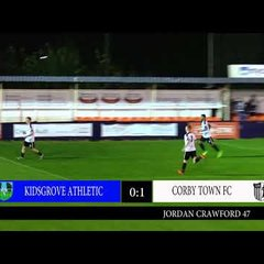 CTTV Highlights: Kidsgrove Athletic 1-2 Corby Town: