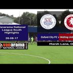 VIDEO | Oxford City FC 1-1 Welling Utd