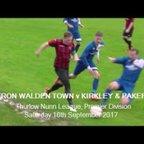 Saffron Walden Town v Kirkley & Pakefield, Season 2017-18