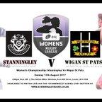 Stanningley Ladies v Wigan St Pats Ladies 13.08.17