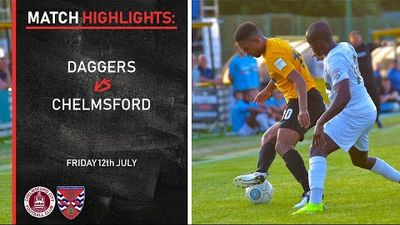 Pre-season Highlights: Chelmsford City 2-1 Dagenham & Redbridge