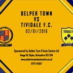 Belper Town 3 - 0 Tividale 2nd January 2016 Highlights