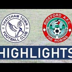 Thatcham Town FC vs Bideford AFC | Highlights