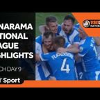 Vanarama National League Highlights: Match Day 9