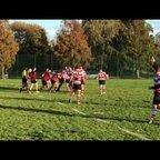 Ben Ofori Try - Southwark RFC - Sheppey - 2018-19