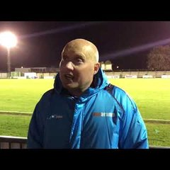 POST MATCH INTERVIEW - Bognor Regis Town 0-0 Oxford City.