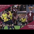 Gosport Borough 2 vs 1 Chelmsford City - Extended Highlights
