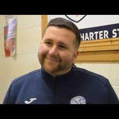 Thatcham Town FC vs Broadbridge Heath FC - Danny Robinson Interview
