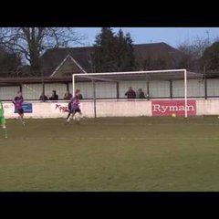 Hilights Soham Town Rangers v Brighlingsea Regent Ryman North one  14-1-2017