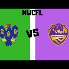 [NVTV] [NWCFL] Northwich Victoria vs City of Liverpool [GOALS]