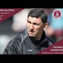 Basingstoke Town Reaction: Kevin Maher