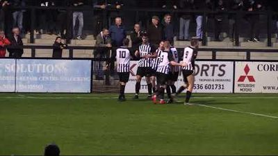 play off semi-final goals v bedford town