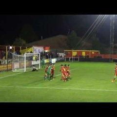 Banbury United 2 Chippenham Town 1 - 18th Oct 2016 - Match Highlights
