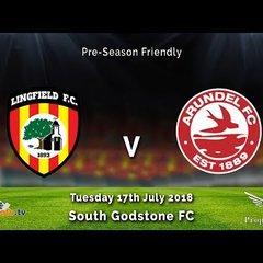 Lingfield FC 2v1 Arundel FC - Pre-Season Friendly - 17-07-2018