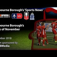 'Sports News': Eastbourne Borough's Goals of November - National League South