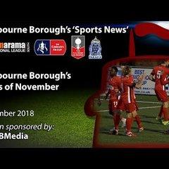 'Sports News': Eastbourne Borough's Goals of November - National League South