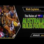 The Rules of Australian Football - EXPLAINED!