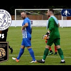 FA Cup Day! Thatcham Town FC vs Petersfield Town FC Highlights!