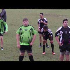 Okapi Wanderers RFC U14 vs. Wellington Wizards  01/29/17 at Wellington