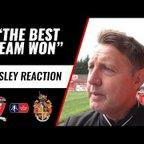 "JASON AINSLEY | ""The best team won"" | Witton Albion Reaction"