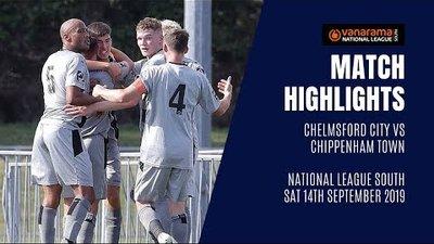 HIGHLIGHTS: Chelmsford City 3-3 Chippenham Town | 2019/20 National League South