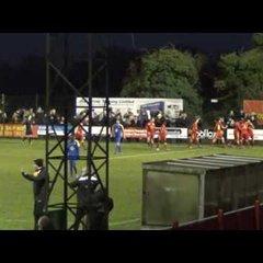 Banbury United 1 Leamington 0 - The 93rd Minute Goal - 2 Jan 2017