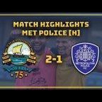 MATCH HIGHLIGHTS| GOSPORT 2-1 Met Police