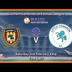 HIGHLIGHTS - Lingfield FC v Little Common FC - League - 02-02-2019