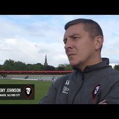Salford City 1-2 York City - Anthony Johnson post-match interview
