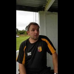 Richard Colwell speaks after Stourport draw