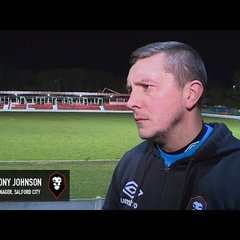 Salford City 1-1 Chorley - Anthony Johnson post-match interview