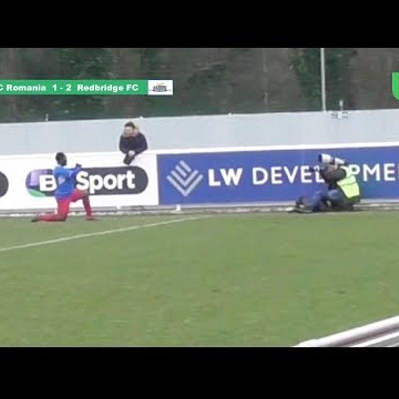 Match Highlight - Saturday Afternoon Football - ESL - FC Romania vs Redbridge FC (17/03/2018)