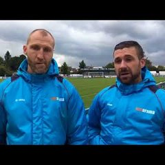 Herring & Boardman talk following East Thurrock Utd draw