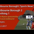 'Sports News': Eastbourne Brough 2 v 1 Worthing
