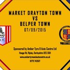 Market Drayton Town FC 1 - 0 Belper Town 7th November 2015 Highlights