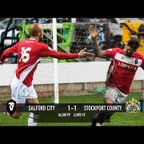 Salford City 1-1 Stockport County - National League North 18/03