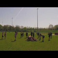 Crowborough RFC U12s vs East Grinstead -  2nd half (22/4/18)