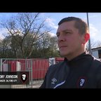 Salford City 2-1 Altrincham - Anthony Johnson post-match interview